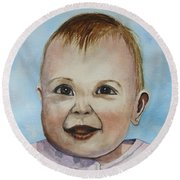 Julianna Round Beach Towel
