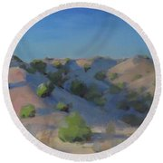 Juniper And Pinon Round Beach Towel