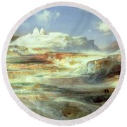 Jupiter Terrace Round Beach Towel