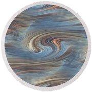 Jupiter Wind Round Beach Towel