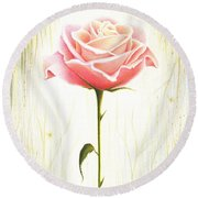 Just Another Common Beauty Round Beach Towel