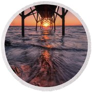 Just Another Day... Round Beach Towel