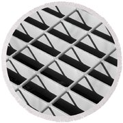 Just Another Grate Round Beach Towel