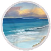 Just Beachy Round Beach Towel