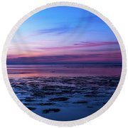 Round Beach Towel featuring the photograph Slave To Your Mind by Thierry Bouriat
