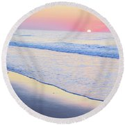 Just The Two Of Us - Jersey Shore Series Round Beach Towel