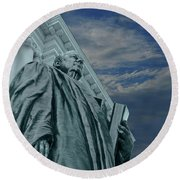 Justice Round Beach Towel