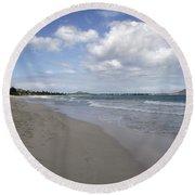 Kailua Beach, Oahu Round Beach Towel