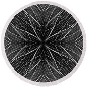 Kal4 Round Beach Towel
