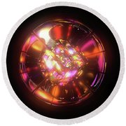 Kaleidoscope Round Beach Towel