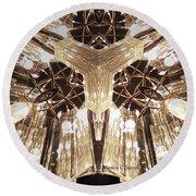 Kaleidoscope Mirror Effect M12 Round Beach Towel
