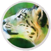 Katso Valo Round Beach Towel by Greg Collins