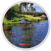 Kauai Serenity Round Beach Towel