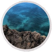 Kauai Round Beach Towel by Shirley Mangini