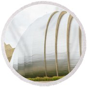 Kauffman Center Performing Arts Round Beach Towel