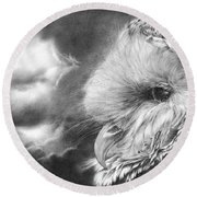 Keeper Of Secrets Round Beach Towel