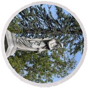 Keeping Watch Round Beach Towel