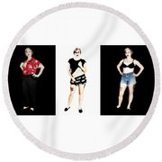 Kelsey 4 Round Beach Towel