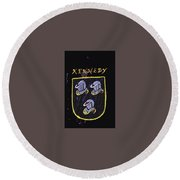 Kennedy Round Beach Towel