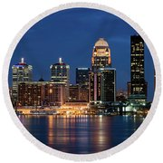 Kentucky Blue Round Beach Towel