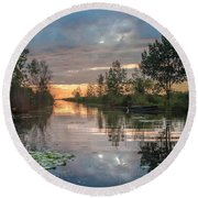 Kettle Point - Canada Round Beach Towel