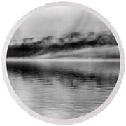 Keuka Mists Round Beach Towel