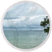 Key Largo Round Beach Towel