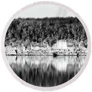 Keystone Reflected Round Beach Towel