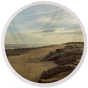 Kilnsea  Round Beach Towel