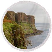 Kilt Rock Round Beach Towel