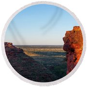 Kings Canyon Round Beach Towel