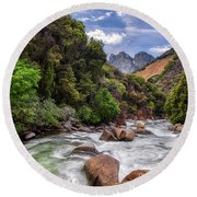 Kings River Round Beach Towel