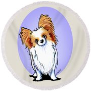 Kiniart Papillon Round Beach Towel