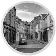 Kinsale Side Street Round Beach Towel