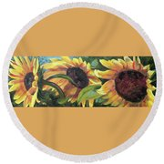 Kinship Round Beach Towel