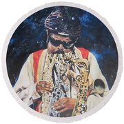 Blue Cat Productions.  Rahsaan  Roland Kirk  Round Beach Towel