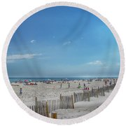 Kismet Family Fun Round Beach Towel