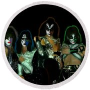 Kiss Solos Best Of Round Beach Towel
