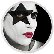 Kiss Round Beach Towel