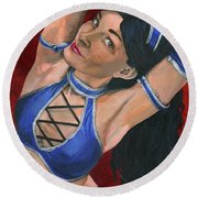 Kitana Round Beach Towel