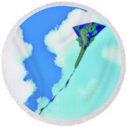 Kite II Round Beach Towel