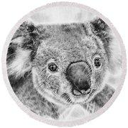 Koala Newport Bridge Gloria Round Beach Towel