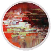Kodachrome Round Beach Towel