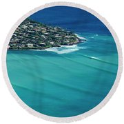 Koko Head Pastels Round Beach Towel