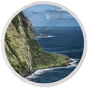 Kona Overview Round Beach Towel by Shirley Mangini