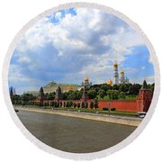Kremlin Round Beach Towel