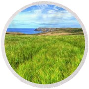 Kynance Gaze Round Beach Towel