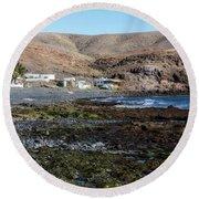 La Lajita - Fuerteventura Round Beach Towel