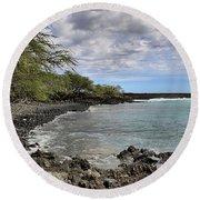 La Perouse Bay Round Beach Towel