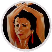 La Tati Round Beach Towel